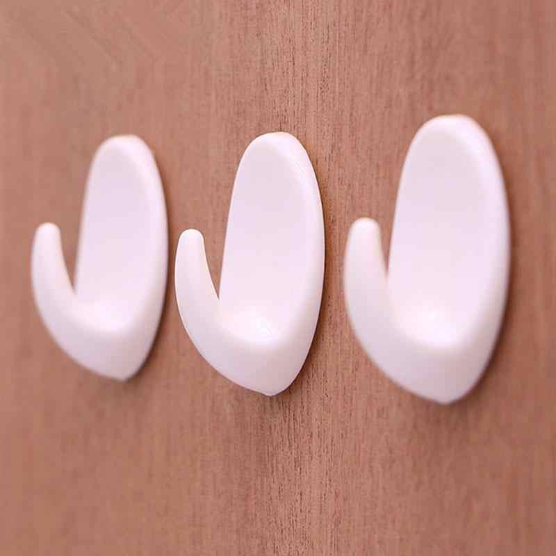 5 יח'\חבילה עצמי דבק וו בגדי קיר חדר אמבטיה מחזיק מגבת קולב מטבח אמבטיה קיר קולב ווים