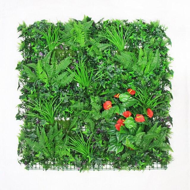 Haie de buis artificielle Jardin Vie Privée écran de clôture 1X1 M ...