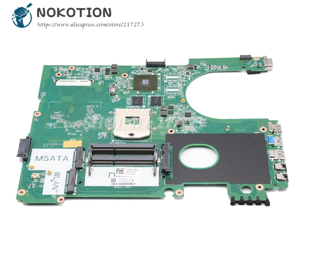 NOKOTION DA0R09MB6H1 CN-01040N 01040N 1040N Laptop Motherboard For Dell  Inspiron 15R 5720 Main Board GT630M DDR3NOKOTION DA0R09MB6H1 CN-01040N 01040N 1040N Laptop Motherboard For Dell  Inspiron 15R 5720 Main Board GT630M DDR3