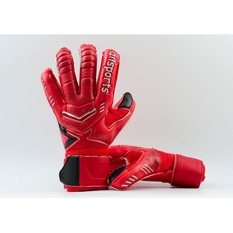 New Design Professional Soccer Goalkeeper Glvoes Latex Finger Protection Children Adults Football Goalie Gloves 8