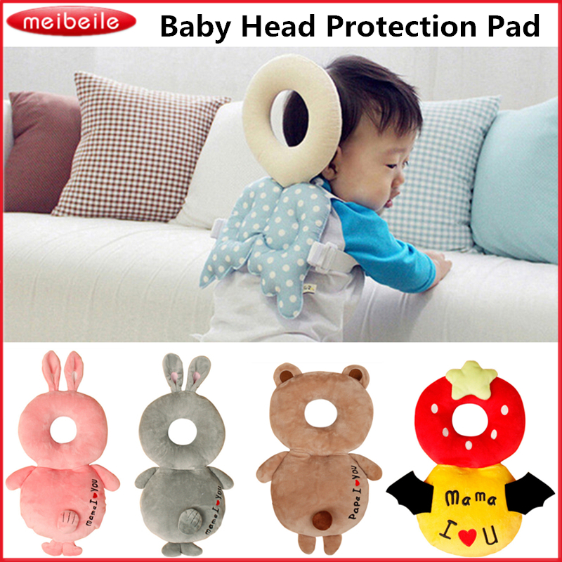 Soft Baby Head Protection Pad Toddler Headrest Pillow Baby Neck Cute Wings Nursing Drop Resistance Cushion Baby Protect Backpack