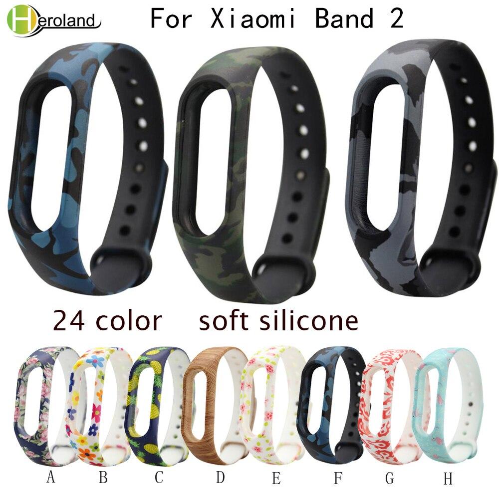 Uhren Silikon Handgelenk Gurt Für Xiaomi Band 2 Band Smart Armband Armband Bunte Silikon Armbänder Für Xiaomi Band 2 Handgelenk Band