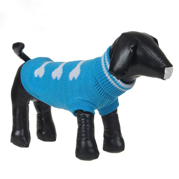 Winter Dog Clothes Sweate Christmas BEST Gift New Pet Bone Pattern Warm Sweater Knit Dog Coat Puppy Dog Clothes