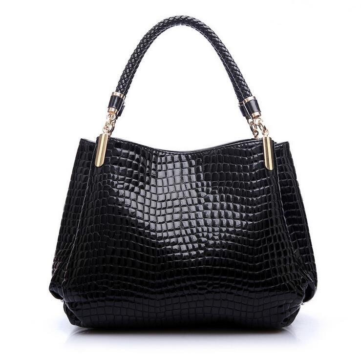 New crocodile grain Lady Handbags fashion women's single shoulder bag women's messenger bag