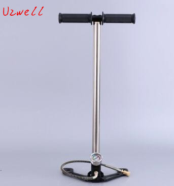 Fast Delivery Top Quality High Pressure 3 Stage PCP Car Mini Hand Operated Air Pump Hunting PCP pump 300bar 30mpa 4500psi