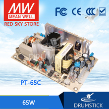 цена на [VIII] Hot! MEAN WELL original PT-65C meanwell PT-65 65W Triple Output Switching Power Supply