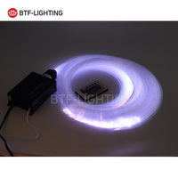 16W RGBW 200pcs 1 0mm 2M LED Fiber Optic Light Star Ceiling Kit Lights Optical Lighting