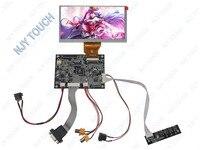 VGA 2AV Реверсивный TTL 50 контактов ЖК-контроллер плата KYV-N2 V1 Plus 6 5
