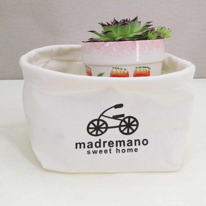 19*12 cm Mini Faltbare Wäsche Körbe Korb für Bad Spielzeug Zimmer Kleidung Veranstalter Kleinigkeiten Organizer Wäsche Produkte