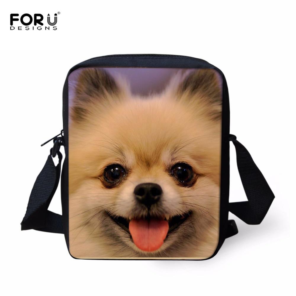 f1c6513f9213b Forudesigns لطيف الحيوان النساء حقائب للبنات صغير أكياس صغيرة عبر الجسم  حقائب الكتف رسول بولسا الأنثوية mochila