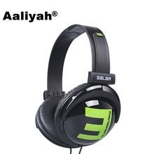 Aaliyah Big E 3.5mm Over-Ear Headband Wired Headphones Earphone Foldable Gaming Headset Headphone for Computer For iphone Xiaomi
