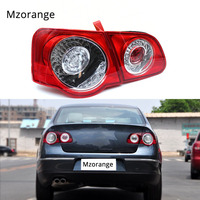 MZORANGE Car LED Rear Tail Light Lamp For VW Passat B6 Sendan 2006 2011 Car Styling Outer inner left right side fast ship