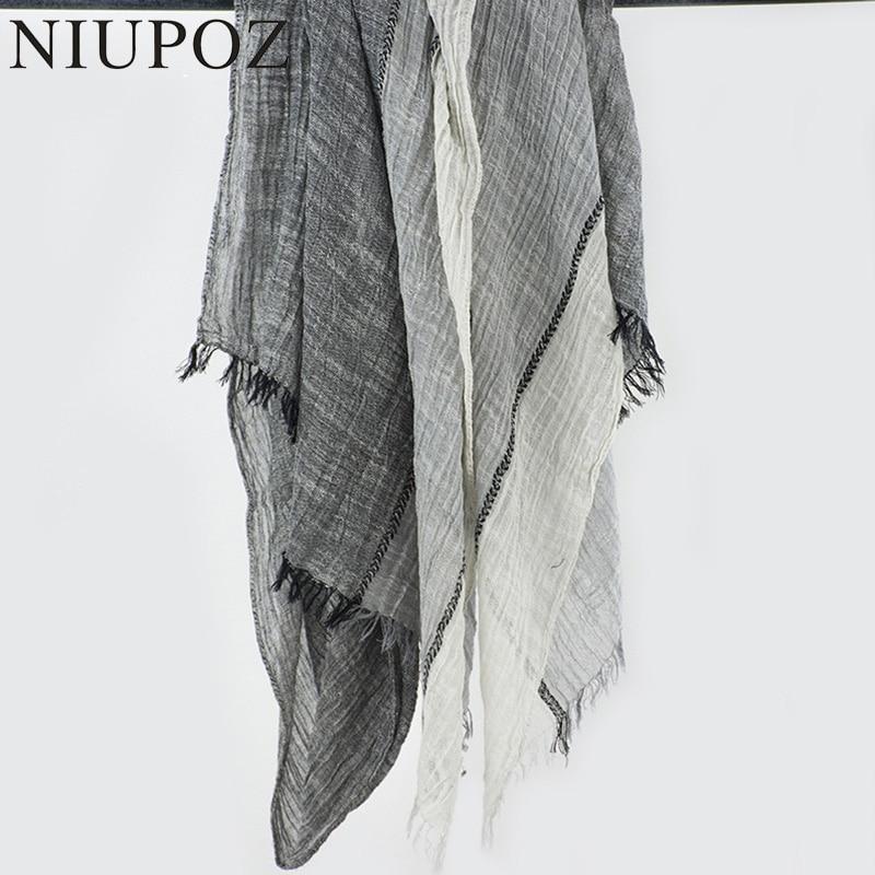 6e91a759e Aliexpress.com : Buy New Desian Women Cotton Winter Black Scarf Men Soft  Wrinkle Unisex Long Shawl&Wrap Ring Scarf Big Size 80*205cm M199 from  Reliable ...