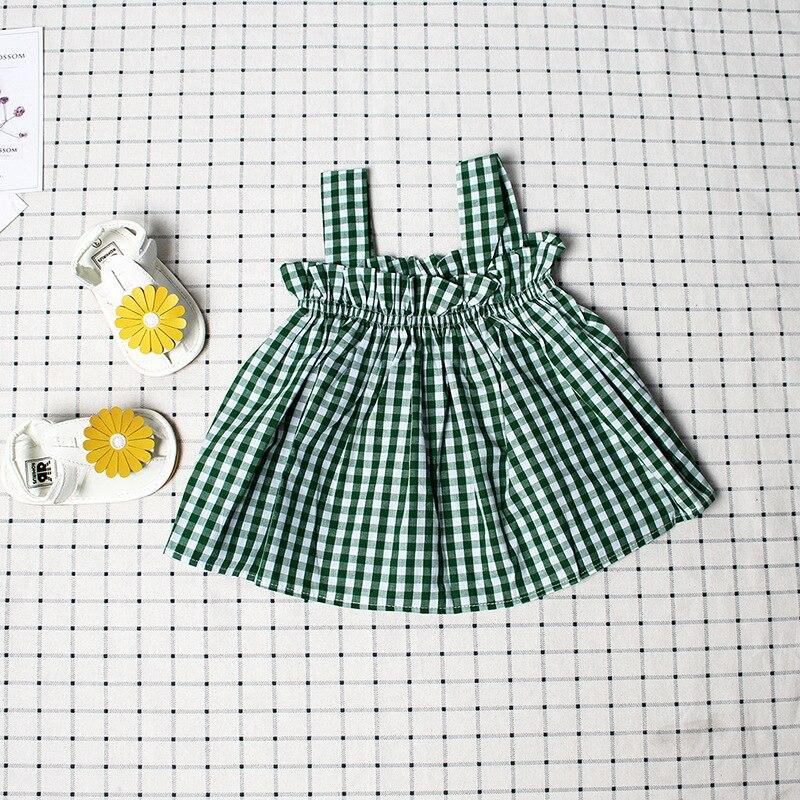 Baby Girl Letnia sukienka bez rękawów Sukienka Baby Girl Summe Set - Odzież dla niemowląt - Zdjęcie 4