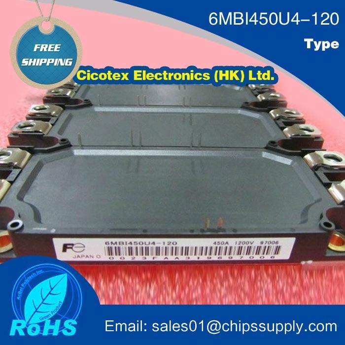 6MBI450U4 120 IGBT MODULE 450A 1200V 6MBI450U4120