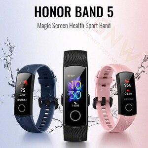 Image 2 - Ban Đầu Huawei Honor Ban Nhạc 5 Tay Thông Minh Oxy Trong Máu Màn Hình Cảm Ứng Màu Bơi Thì Màn Hình Nhịp Tim Ngủ Ngủ Trưa