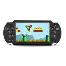 5,1 дюймовый экран портативные игровые приставки 8 Гб памяти встроенные 500 игры с камерой