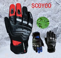 Touch Phones Men S SCOYCO MC17B Motorcycle Gloves Leather Motorbike Racing Female Moto Waterproof Windproof Glove