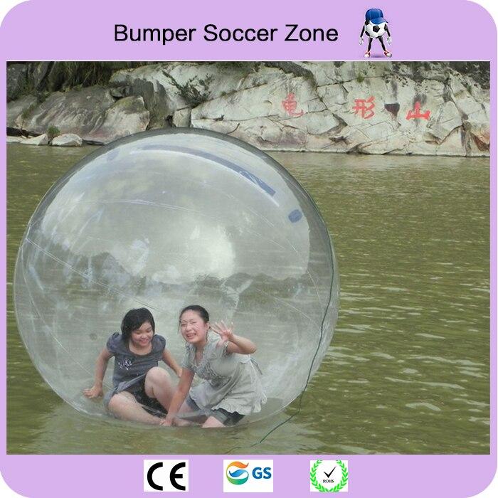 Gratis Verzending 2 m Water Bubble Bal Opblaasbare Water Lopen Bal Water Ballonnen Ballen Giant Opblaasbare Anti Stress Bal - 4