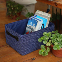 Storage box storage finishing snacks plastic rattan collection basket