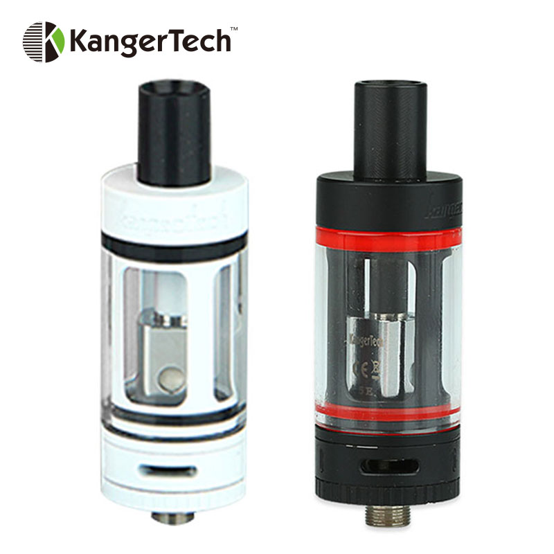 100% Original Kangertech Subtank Mini Tank 4.5ml Capacity with OCC Organic Cotton Coil Kanger Subtank Mini RBA cartomizer kanger clapton coil 0 5ohm resistance stainless steel case kanthal wire janpan cotton for subtank toptank nebox