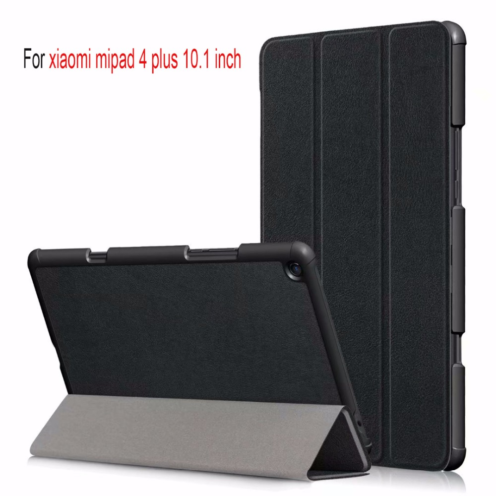 Smart Case Starter Kit Replacement Suits for Xiaomi Mi Pad 4 Plus 10.1 Tablet Case With Keyboard Free Screen Protector And Stylus Pen Included.
