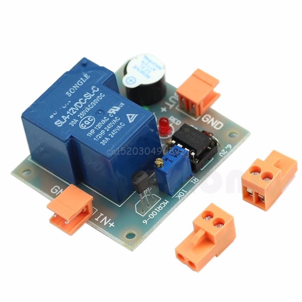 Аккумулятор Звук Свет Сигнализация предотвращения чрезмерного разряда контроллер низкого напряжения 12 В # H028 #