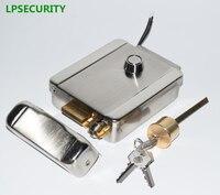 LPSECURITY 12VDC Electric Lock Electronic Door Lock for Video Intercom Doorbell Door Access Control System Video Door Phone
