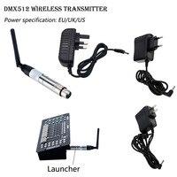 DMX512 Wireless System Transmitter 2.4G for LED Stage Light LED Light 500m Control