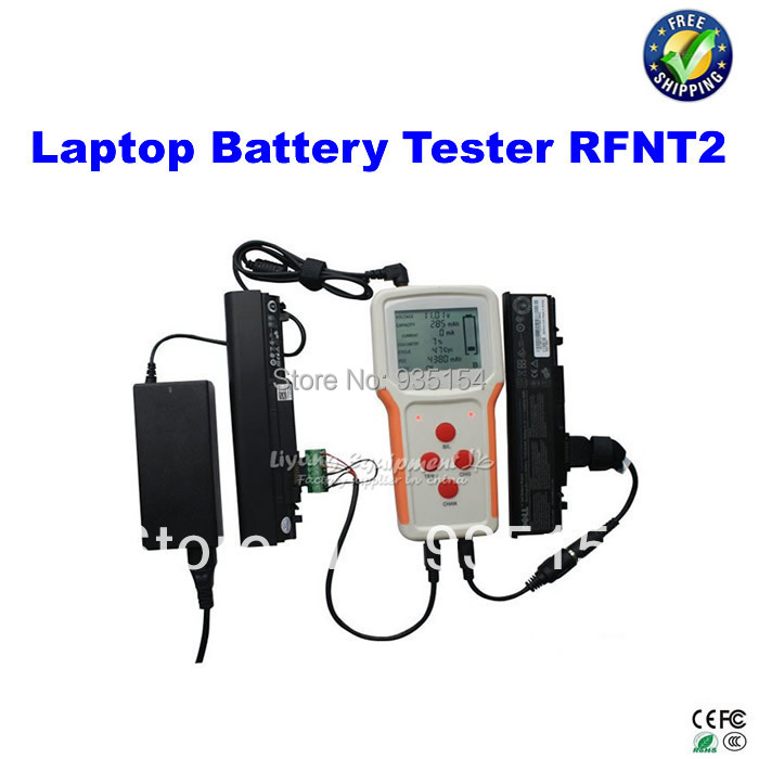 portable external laptop battery tester rfnt2 can work for most of latop batteries for dell. Black Bedroom Furniture Sets. Home Design Ideas