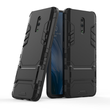 Case For Oppo Reno Case Armor Silicone PC Coque Shockproof Tough Cover Case For Oppo Reno 6.4 inch Fundas Bumper Phone Cases Bag-in Fitted Cases from Cellphones & Telecommunications on AliExpress