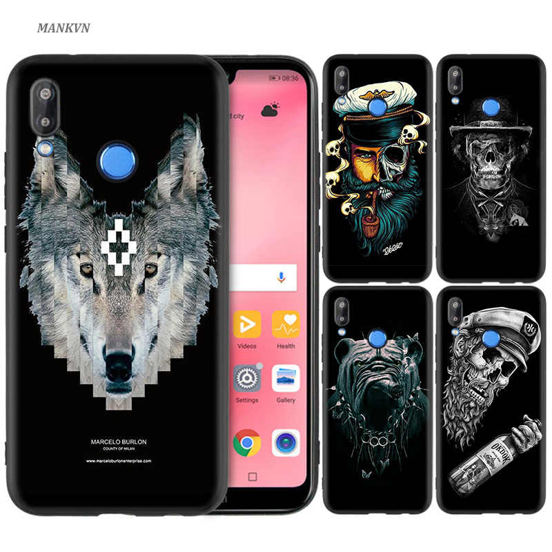 Silicone Case Cover for Huawei P20 P10 P9 P8 Lite Pro 2017 P Smart+ 2019 Nova 3i 3E Phone Cases Marcelo Burlon