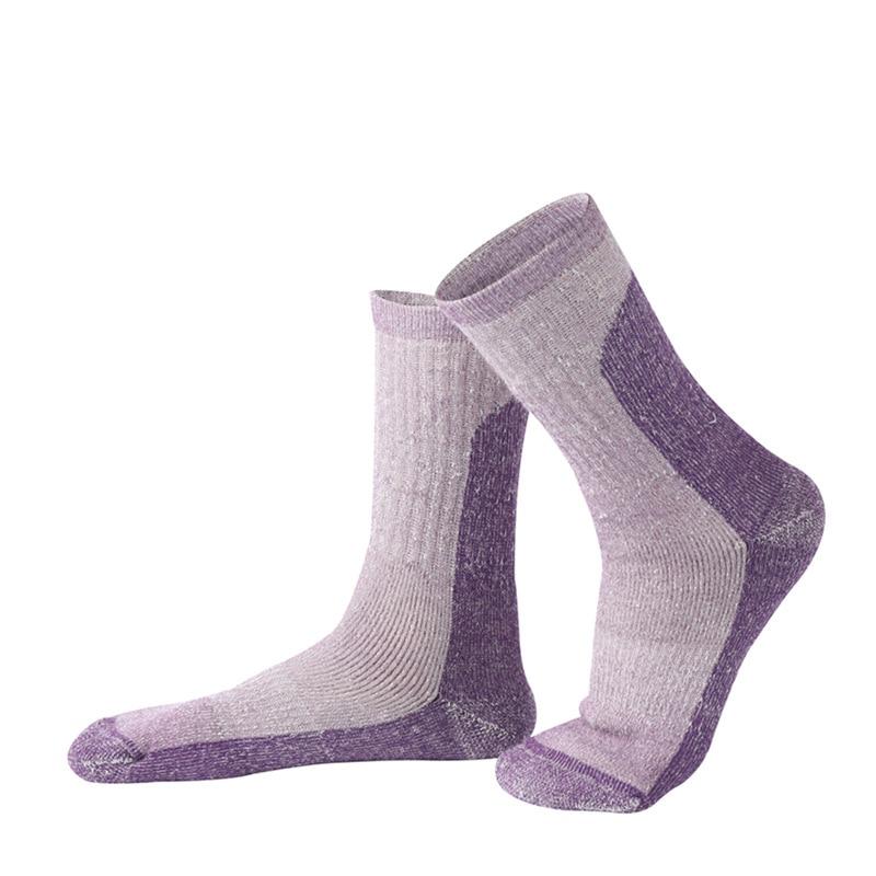 2 Pairs/lots Men Ski Socks Wool Thick Warm Outdoor Hiking Socks Compression Athletic Socks Sport Running Climbing Skiing Socks