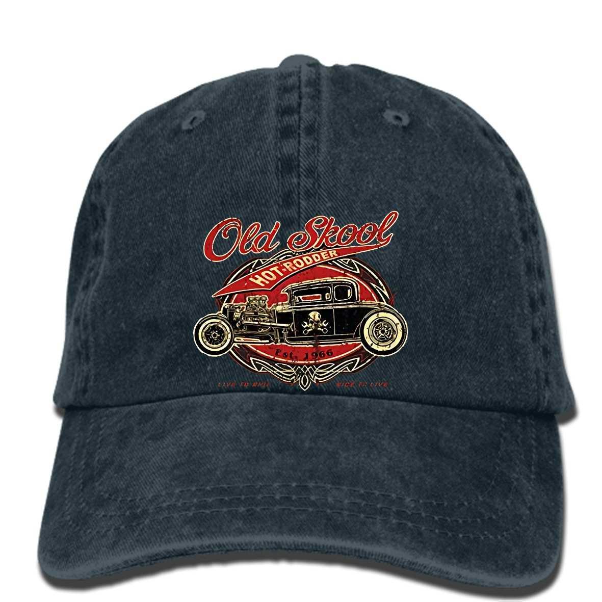 5d6aba66dec53 hip hop Baseball caps OLD SKOOL SCHOOL HOT ROD Vintage Classic Car cap
