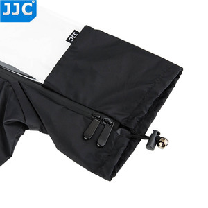 Image 4 - JJC Rain Cover Coat Dust Protector Case voor Nikon D7100 D5500 D5300 D5200 D3300 D90 voor Canon 750D 700D 650D 600D 550D Camera