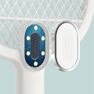 Image 4 - Youpin 3 Layers Mesh Electric Mosquito Swatter Electric Handheld Mosquito Killer Insect Fly Bug Mosquito Swatter Killer
