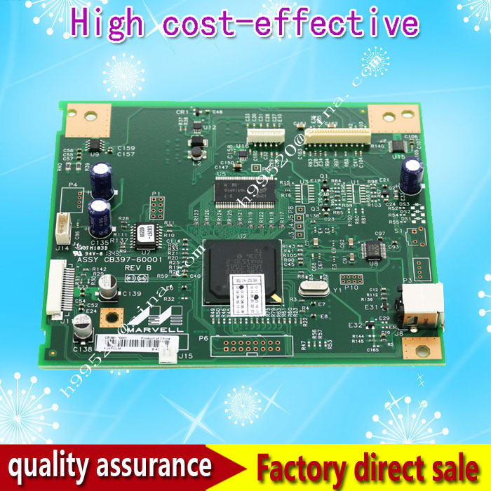 CB397-60001 Formatter Board for M1005 HP M1005 Formatter Pca Assy logic Main Board MainBoard mother board formatter pca assy formatter board logic main board mainboard mother board for hp m775 m775dn m775f m775z m775z ce396 60001
