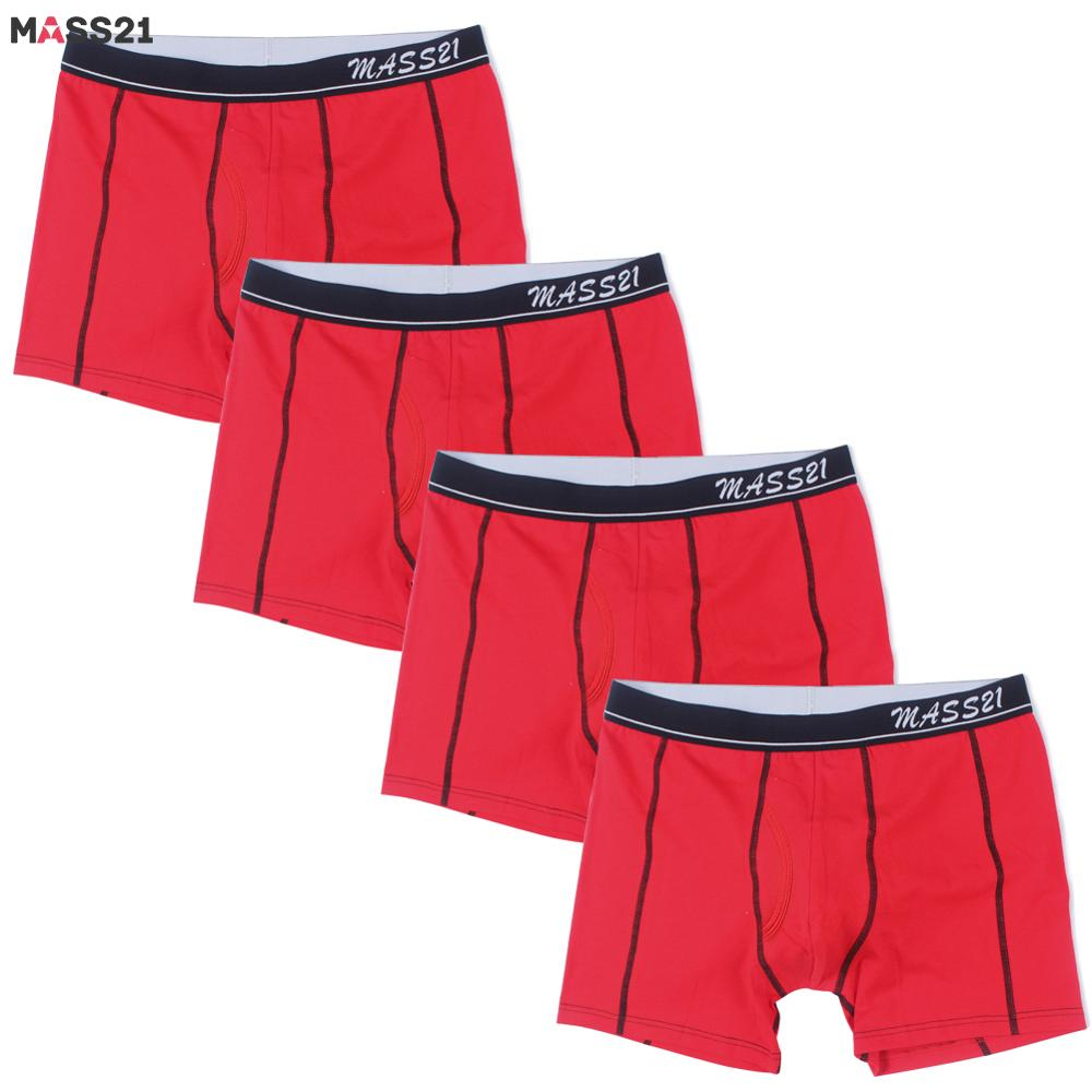 MASS21 Boxers Men Underpants Breathable 4pcs/Lot for Man Cuecas Homme Sexy