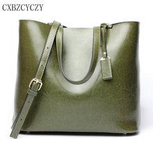 Women's Genuine Leather Luxurious Brand Shoulder Bag Women Crossbody Bags Handbags Women Messenger Bags Shopping Bag Big Bolsa