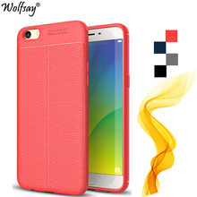 Wolfsay sfor capa oppo r9s caso luxo litchi couro padrão & tpu caso de telefone para oppo r9s caso para oppo r9 s escudo do telefone 5.5