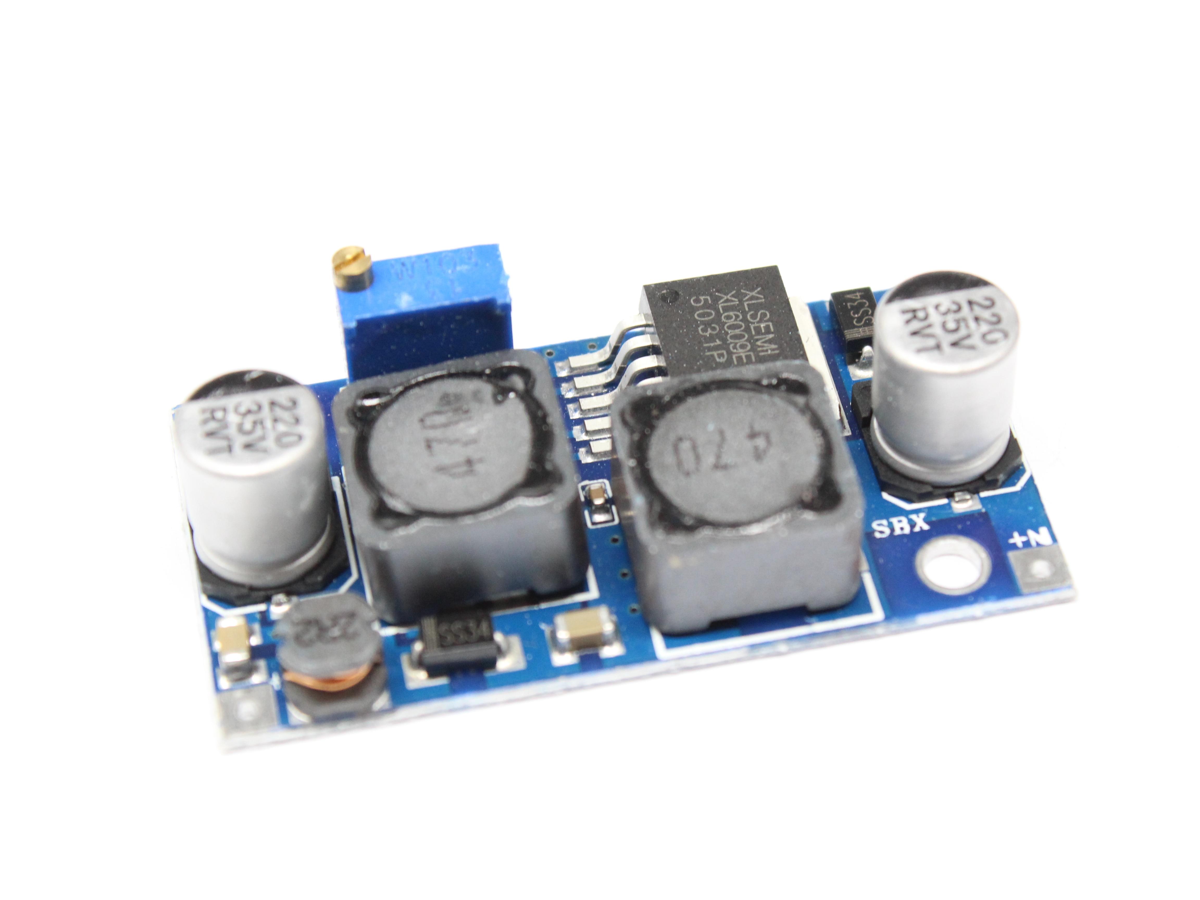 Регулируемый понижающий модуль преобразователя XL6009 с автоматическим усилением, солнечная плата напряжения 1,25-36 в, переключатель MOSFET dsn6000audi