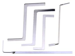 Image 5 - Набор слесарных инструментов 5 в 1, 2 прозрачных замка с 5 мини инструментами, 10 сломанных ключей, инструмент для удаления, 5 натяжных инструментов