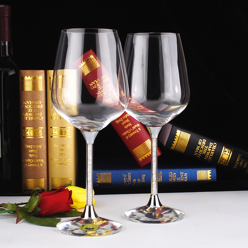 wine glass cup gift box wholesale packaging glassware wedding red wine glasses set with stem