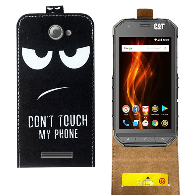 online store aef94 16ffc US $3.74 25% OFF|Newest Flip Case For Caterpillar Cat S31 Cover Cases 4.7