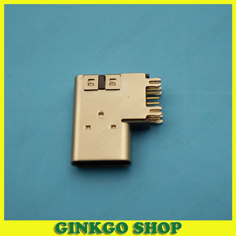 200pcs Side Vertical Type C Female Socket USB Jack Height 2.3mm-5.0 USB 3.1 Jack Connector 4Feet