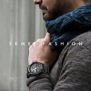 Image 2 - SKMEI Digital Watch Men S Shock Sports Watches Military Waterproof Big Dial Dual Display Quartz Clock Men Relogio Masculino 1357