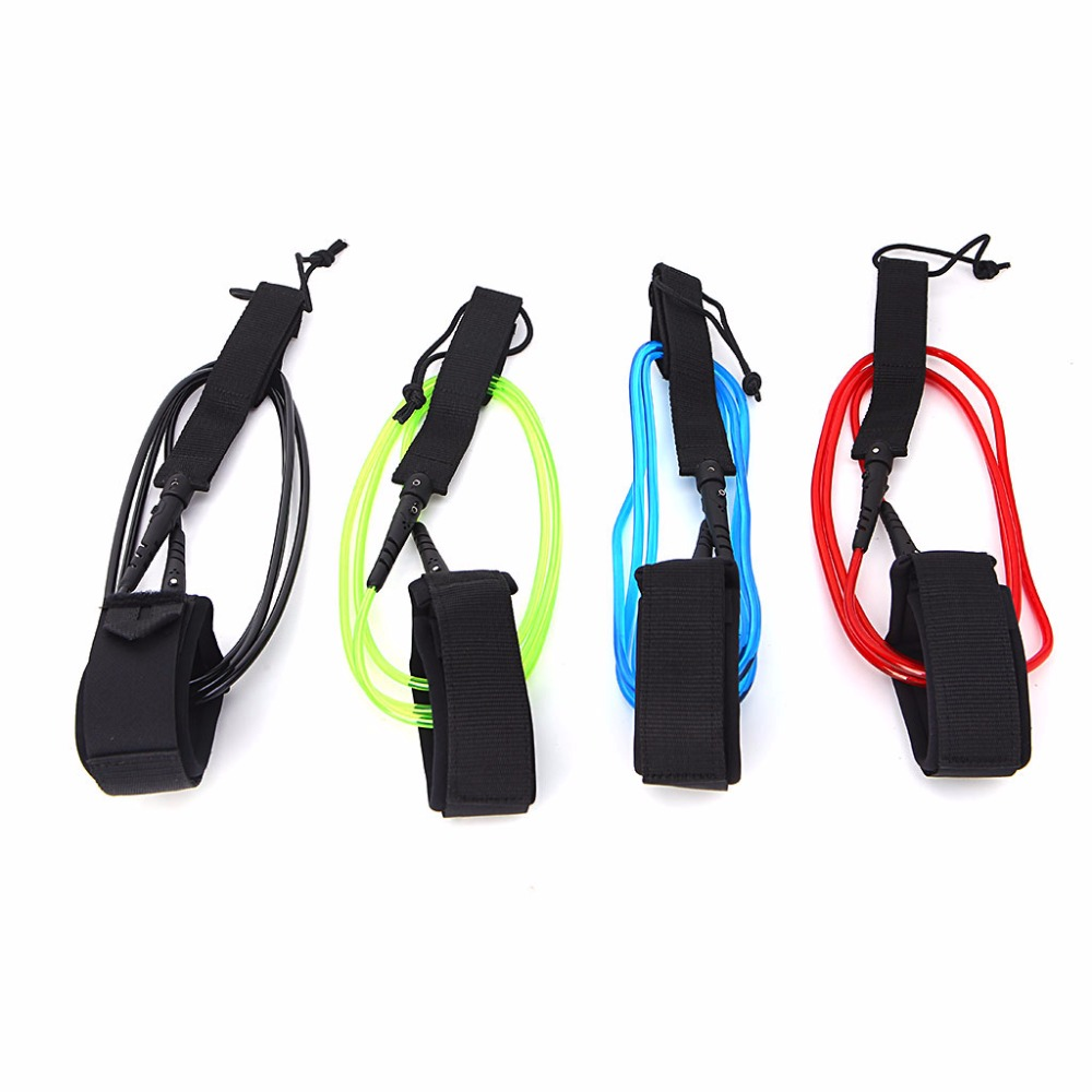 Surfing Surfboard Leash Foot Rope TPU Super Strong Surf Supplies Paddle Board Accessories