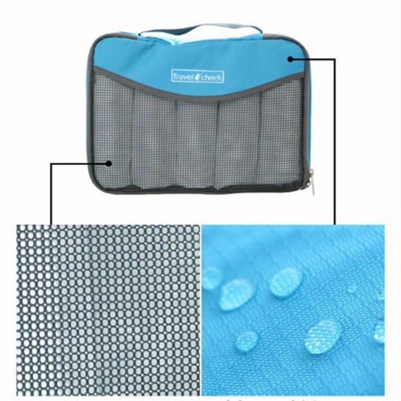 LDAJMW Nylon Waterdichte materiaalgaas Reisbagage Verpakking Netto - Home opslag en organisatie - Foto 5