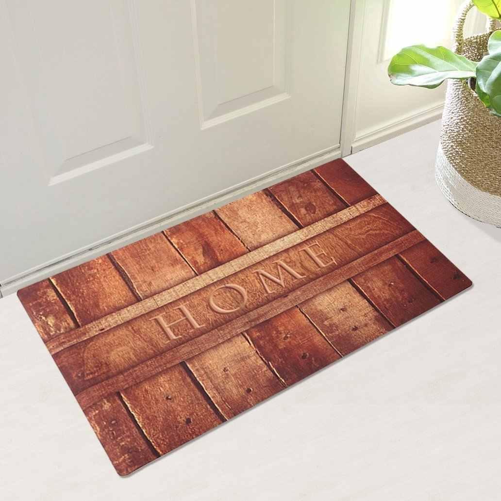 Rubber Indoor Doormat Rustic Entrance