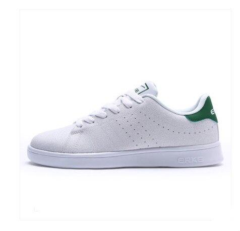 Для мужчин женская обувь 2018 Лето Новые Нескользящие зеленый хвост обувь Для Мужчин's Скейтбординг маленькие белые туфли Хунсин Ерке